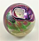 RARE JAMES NOWAK One of a Kind Art Glass 3 PAPERWEIGHT famous glass artist NEW
