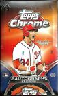 2012 Topps Chrome Factory Sealed Baseball Hobby Box TROUT- HARPER AUTO ??