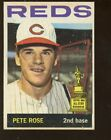 1964 Topps Baseball Card #125 Pete Rose 2nd Card