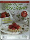 Tea Time Physical Magazine May June 2014 Best Strawberry Recipes Iced Teas