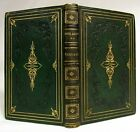 Antique 1867 ENOCH ARDEN Alfred Tennyson DECORATIVE FINE LEATHER BINDING Poetry