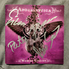 ***VERY RARE*** APOCALYPTICA - WORLDS COLLIDE Autographed/Signed Booklet***
