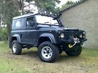 LARGER PHOTOS: LAND ROVER 90 DEFENDER 1990 WITH 200TDI ENGINE,THOUSANDS SPENT,NO RESERVE.