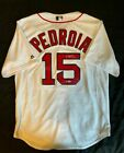DUSTIN PEDROIA Signed Autographed MLB Boston Red Sox Jersey STEINER COA