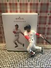 HALLMARK MOOKIE BETTS 2019 BASEBALL CHRISTMAS KEEPSAKE ORNAMENTS BOSTON RED SOX