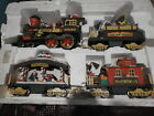 1995 New Bright Holiday Express Train Lot of 4