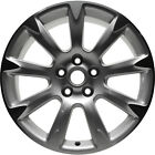 OEM Reman 19x85 Alloy Wheel Rim Silver Painted with Machined Face 4097