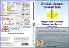 Embrilliance Essentials Embroidery Software For Windows (Full Version).