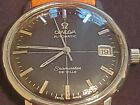 OMEGA SEAMASTER DE VILLE cal 565 AUTOMATIC BLACK CROSSHAIR Date DIAL