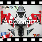 For Suzuki GSX-R750 2000-2003 Fairing Bodywork ABS Red Silver Black 2b22 PA