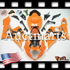For Suzuki GSX-R1000 2005-2006 Fairing Bodywork ABS Plastic Orange Black 2e22 PA