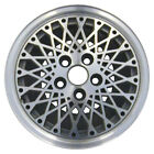OEM Reman 14x6 Alloy Wheel Rim Flat Gray Silver Painted with Machined Face 1549