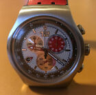 Swatch Irony AG 2005 - 4 Jewels - Chronograph silber rot