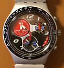 Swatch Irony AG 2007 - 4 Jewels - Chronograph silber rot