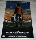 ADAM SANDLER SIGNED THE WATERBOY 12X18 MOVIE POSTER JSA