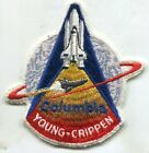 NASA PATCH vtg Space Shuttle COLUMBIA STS 1 LION Brothers Young Crippen 4