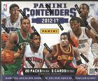 2012-13 Panini Contenders Basketball Factory Sealed Hobby Box - 4 Autos Per Box