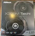 Asrock X399m Taichi Motherboard AUDIO ISSUES SEE DESCRIPTION