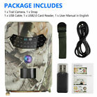 Wide Angle Trail Camera Waterproof IP66 Outdoor Animals Video Night Vision