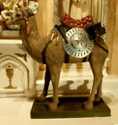 Lg Antique Vic Nativity Creshe Church Camel Statue German 27H
