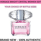 Versace Bright Crystal Eau de Toilette EDT for Women Your Choice of Sizes NEW