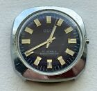 Vintage Non-Running Osco Wristwatch : For Parts or Restoration :
