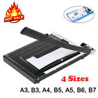 Paper Cutter A3 B7 Metal Base Guillotine Page Trimmer Machine For Home Office