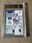 2012 andrew luck contenders rookie auto BGS 9.5 10 Auto