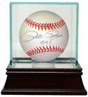 Pete Rose signed RONL Rawlings Official NL Baseball 4192 w Glass Case Goldin