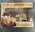 Funko POP Rides: Disney's INDIANA JONES #19 NYCC 2016 Exclusive - INDY'S RIDE