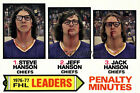 Foil Up with Hanson Brothers Hockey Cards 27