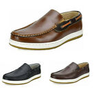 Mens Slip On Loafer Shoes Lightweight Casual Moccasins Boat Shoes