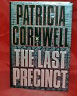 Patricia Cornwell  The Last Precinct  Autographed 2000 First Edition r