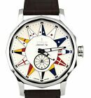 MINT Corum Admiral Legend 42 White Automatic A395/02983 Stainless 42mm Watch
