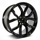 SET4 22X10 5X120 GLOSS BLACK WHEELS FIT LAND RANGE ROVER SPORT SUPERCHARGE SVR