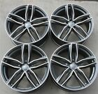 NEW SET 4 21 21X90 5X112 ET30 WHEELS FIT AUDI A6 RS6 A7 S7 RS5 A8 Q5 SQ5 Q7