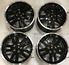 2011 2012 Jeep Liberty 18 OEM Machined Black Wheels Factory Upgrade Wheels