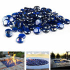 Fire pit glass beads Cobalt Blue Premium Large Tempered Fire Glass drops pack