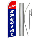 Managers Special Swooper Flutter Feather Advertising Flag Kit Todays Deal Sale