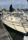 1986 Pearson 303 sailboat dockage paid 1 hour north of chicago