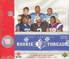 2007 UPPER DECK SP ROOKIE THREADS HOBBY FOOTBALL - 5 BOX LOT