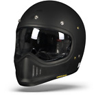 Shoei Ex Zero Matte Black Motorcycle Helmet New Free PP