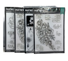 Hero Arts Partners Collaborative Set 6x8 Clear Stamp Set LOT OF 4 New Sealed