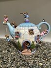Jim Shore Boyds Bears The Potsley Family TeapotHome Is Where The Tea Is 4021086