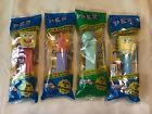 4 PEZ Candy Dispensers Sponge Bob & Friends Brand New & Sealed