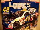 JIMMIE JOHNSON 2002 48 LOWES POWER of PRIDE ROOKIE TEAM CALIBER OWNERS 124