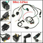 50cc 125cc CDI Wire Harness Ignition Coil Stator Assembly ATV Electric Quad Kit