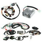 125 250CC Motorcycle Engine Quad Wire Harness+Twin Plug CDI+Rectifier+Spark Plug