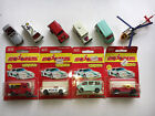 Vintage Rare Majorette Diecast lot of 10 Loose Carded Cars Trucks Helicopter
