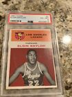 1961 Fleer Basketball #3 Elgin Baylor PSA 6 Ex-Mint Rookie Card LA Lakers HOF